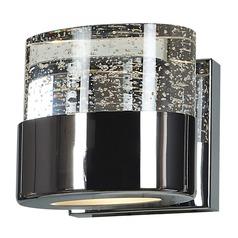 Access Lighting Bubbles Chrome LED Sconce
