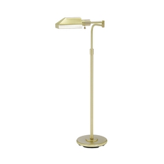 Pharmacy Lamp in Satin Brass Finish