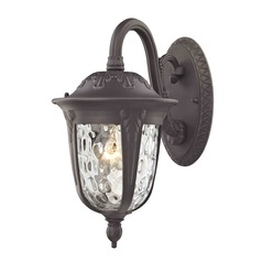 Whitford Bronze Outdoor Wall Light