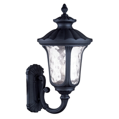 Livex Lighting Oxford Black Outdoor Wall Light