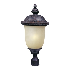 Maxim Lighting Carriage House Ee Oriental Bronze Post Light
