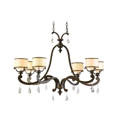 Corbett Lighting Roma Classic Bronze Chandelier