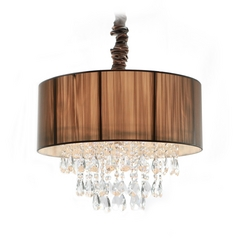 Avenue Lighting Vineland Avenue Pendant Light with Drum Shade