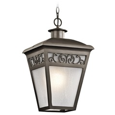 Kichler Lighting Park Row Olde Bronze Outdoor Hanging Light