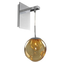 Kalco Meteor Chrome Sconce