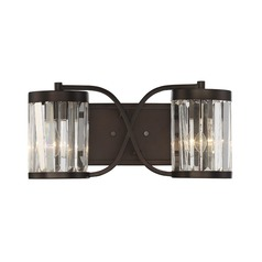 Savoy House Lighting Nora Burnished Bronze Bathroom Light