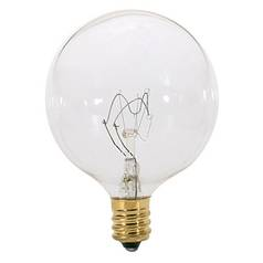 Satco Lighting 60-Watt Candelabra Light Bulb S3831