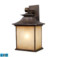 Elk Lighting San Gabriel Hazlenut Bronze LED Outdoor Wall Light