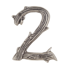 House Number in Pewter Finish
