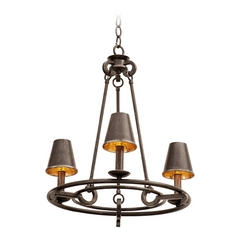 Kalco Lighting Fairford Vintage Iron Mini-Chandelier