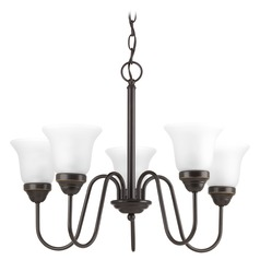 Progress Lighting Classic Antique Bronze Chandelier