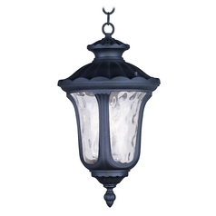 Livex Lighting Oxford Black Outdoor Hanging Light