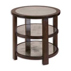 Accent Table in Aubergine Finish