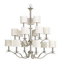 Progress Lighting Inspire Brushed Nickel Chandelier