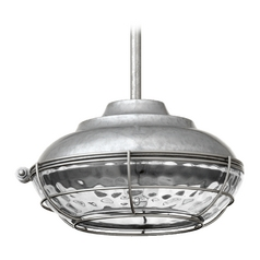 Quorum Lighting Quorum Lighting Hudson Galvanized Outdoor Hanging Light 8375-9-1