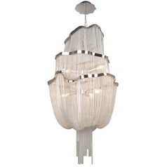 Avenue Lighting Mulholland Drive Polished Nickel Pendant Light