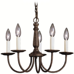 Kichler Lighting Chandelier in Tannery Bronze Finish 1770TZ