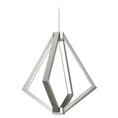 Elan Lighting Everest Satin Nickel LED Pendant Light