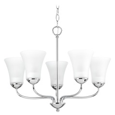 Progress Lighting Classic Polished Chrome Chandelier