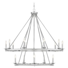 Savoy House Lighting Middleton Polished Nickel Chandelier