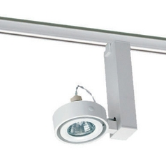 Juno Lighting Group Uno Light Track Head for Juno Track Lighting T811WH