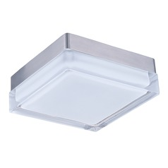Maxim Lighting Illuminaire LED Satin Nickel LED Flushmount Light