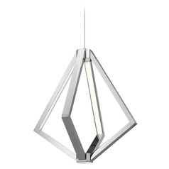 Elan Lighting Everest Chrome LED Pendant Light