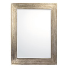 Capital Lighting Silvered Brown Rectangle Mirror 40x30