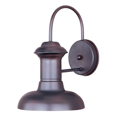 Farmhouse Barn Light Outdoor Wall Light Bronze Wharf by Maxim Lighting