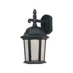 Designers Fountain Lighting LED Outdoor Wall Light with Clear Glass in Driftwood Finish LED2751-DWD
