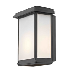 Modern Outdoor Wall Sconce Black