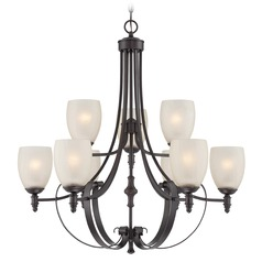 Savoy House Lighting Duvall English Bronze Chandelier