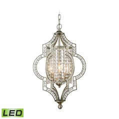 Elk Lighting Gabrielle Aged Silver LED Mini-Chandelier