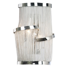 Avenue Lighting Mulholland Drive Polished Nickel Sconce