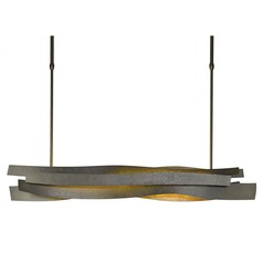Hubbardton Forge Landscape Bronze LED Pendant Light