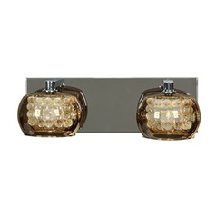 Mid-Century Modern Bathroom Light Chrome Glam by Access Lighting