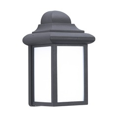 Sea Gull Lighting Mullberry Hill Black Outdoor Wall Light