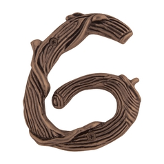 Atlas Homewares House Number in Copper Finish TN6L-C