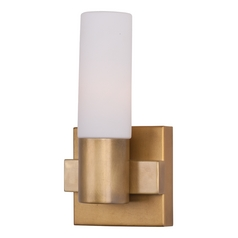Maxim Lighting Contessa Natural Aged Brass Sconce