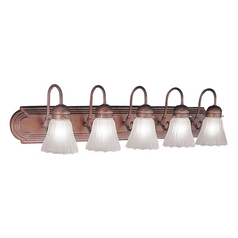 Livex Lighting Belmont Weathered Brick Bathroom Light