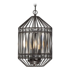 Bronze Pendant Light with Drum Shade Mini Chandelier Collection by Savoy House