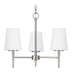 Sea Gull Lighting Driscoll Brushed Nickel LED Mini-Chandelier