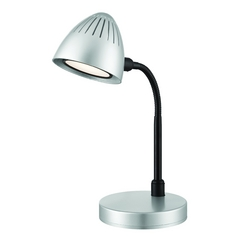 Lite Source Lighting Donati Silver LED Desk Lamp