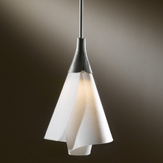 Hubbardton Forge Lighting Mobius Dark Smoke Mini-Pendant Light