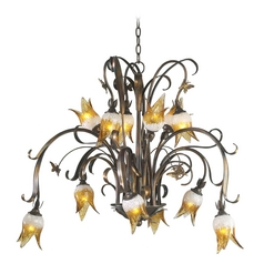 Cyan Design Papillion Venetian Iron Chandelier