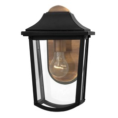 Hinkley Lighting Burton Black Outdoor Wall Light