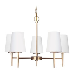 Sea Gull Lighting Driscoll Satin Bronze LED Chandelier