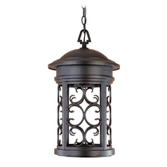 Outdoor Hanging Light in Oil Rubbed Bronze Finish