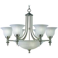 Dolan Designs Lighting Nine-Light Chandelier 665-09