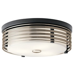 Kichler Lighting Bensimone Black Flushmount Light